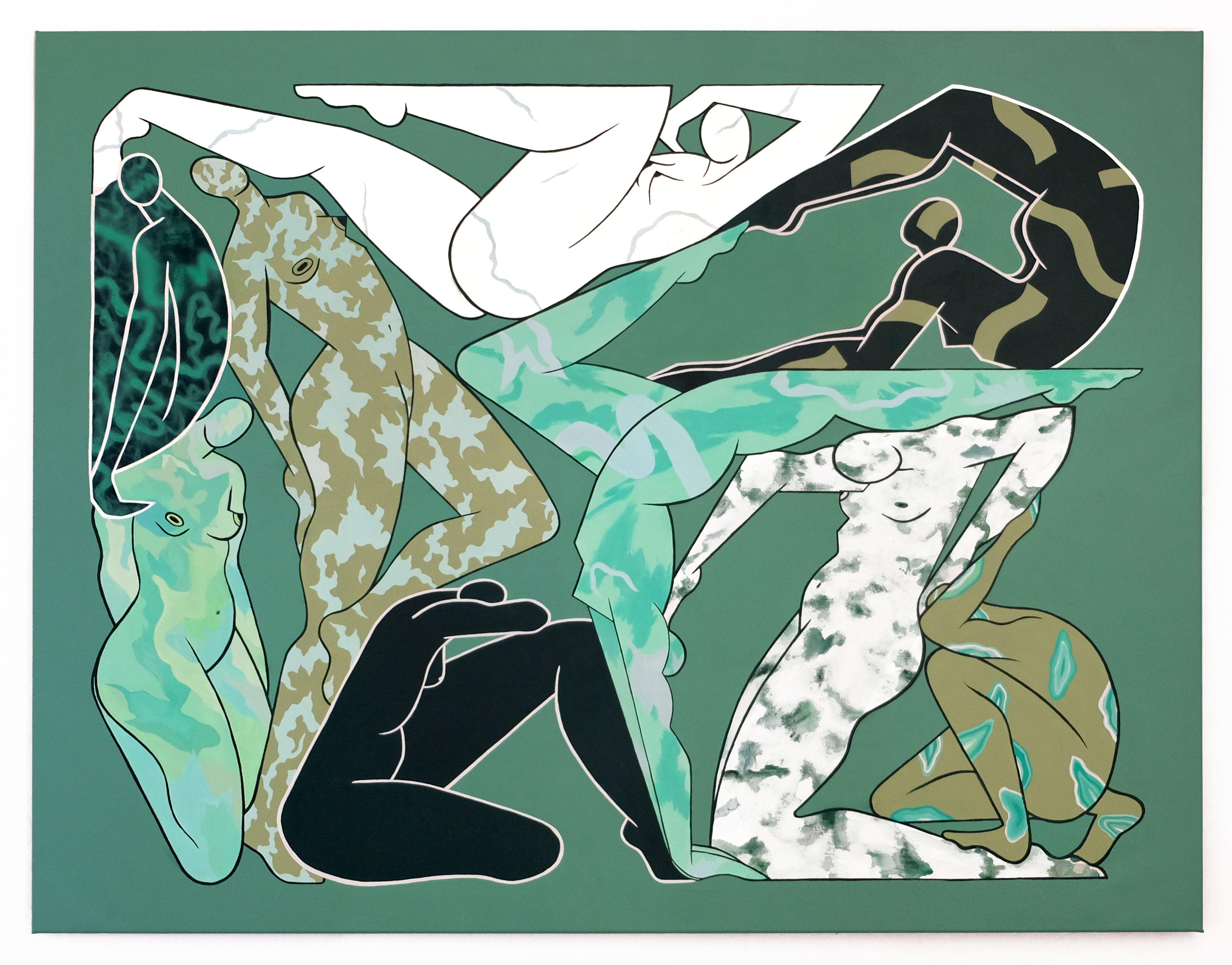 Woman-2020-105x125cm - Acrylique sur toile